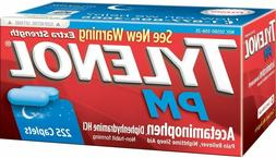 Tylenol PM Extra Strength 225 ct Caplets ,Pain reliever slee