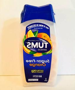 1 Tums Sugar-Free Extra Strength 750 Orange 80 Chewable Tabl