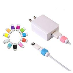 10PCS Cable Saver Protector For Apple USB Lightning Cable Ip