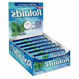 3x Boxes Rolaids Mint Antacid Extra Strength 12 Rolls Per Bo