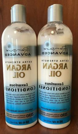 2 Bottles Renpure Advanced 16 Oz Extra Strength Argan Oil Lu