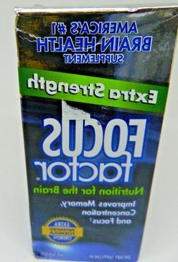 2 Focus Factor Extra Strength -Memory Concentration Focus 12