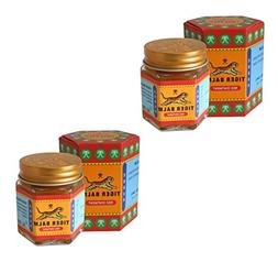 2 Jar Tiger Balm 30g Red pain relief ointment massage muscle