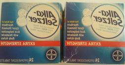 2 Pack Alka-seltzer Extra Strength 44 Total Effervescent Tab