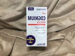 2 x 60 Natrol Cognium Focus, Brain Health & Focus Supplement