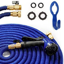 2017 50' Expandable Garden Hose. Kink-Free Water Hose  with
