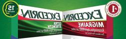 25x Packs - Variety U Pick - Excedrin Extra Strength & Migra