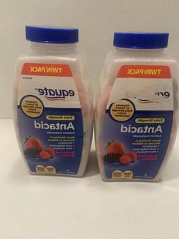 2pk Equate Extra Strength Assorted Berry Antacid 200ct Chewa