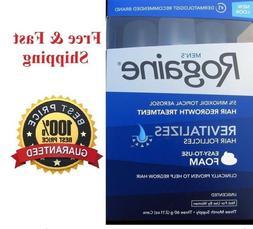 3 Months Men's Rogaine foam Extra Strength 5% Minoxidil Hair