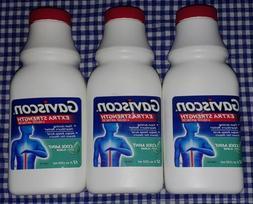 3 PACK - Gaviscon Liquid Antacid - Extra Strength Cool Mint