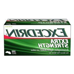 300 Caplets EXCEDRIN EXTRA STRENGTH Pain Reliever Aid Aspiri
