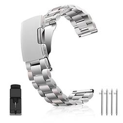 Vetoo 304 Stainless Steel 22mm Watch Bands for Moto 360 2nd