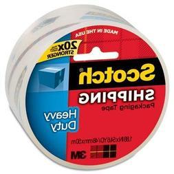 """Scotch 3850 Heavy-Duty Packaging Tape, 2"""" X 55Yds, Clear, Ca"""