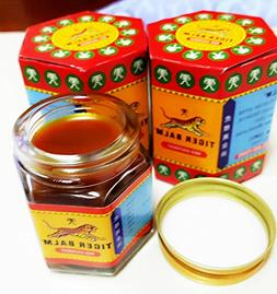 3x30g. Tiger Balm Red .Herbal Rub Muscles Pain Relief Extra