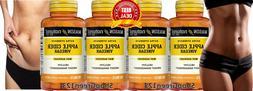 4 APPLE CIDER EXTRA STRENGTH VINEGAR 1000 mg Weight Loss 500