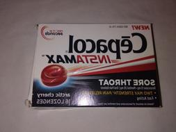 4 Cepacol InstaMax & Extra Strength Sore Throat/Cough Drop L