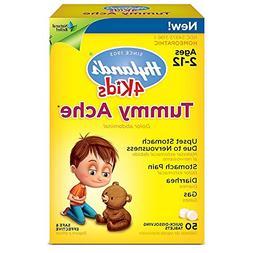 Hyland's 4 Kids Tummy Ache 50 Ct Pack of 2