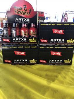 5-hour ENERGY Extra Strength, Berry - 19.3oz 4 Pack 48 Bottl