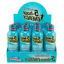 5-Hour ENERGY Extra Strength Blue Raspberry, 1.93 Fl Oz, 12