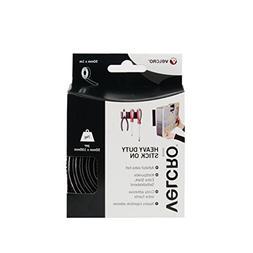 50mmx 1m Black Velcro Heavy Duty Stick-on Tape
