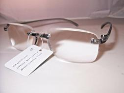 +7.00  CLEAR READING GLASSES   EXTRA STRENGTH +700  Strength