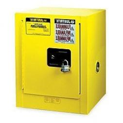 "Justrite 890400 Sure-Grip EX 4 Gallon, 22"" H x 17"" W x 17"" D"