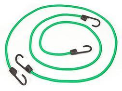 "Reese Secure 9480600 Green 48"" Standard Bungee, 2 Pack"