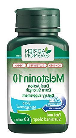 Adrien Gagnon - Melatonin 10 mg , Fast-Dissolving Natural Sl