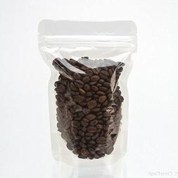 ClearBags 5 x 3 x 7 Clear Gusset Bags | for Coffee Beans, Ca