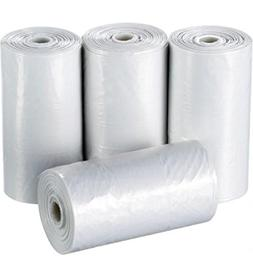Disposable Trash Bags - 4 Gallon Capacity - 2000 Pack - Save