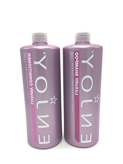 Enjoy Hair Care - 33.8 Ounce Luxury Duo Shampoo and Conditio