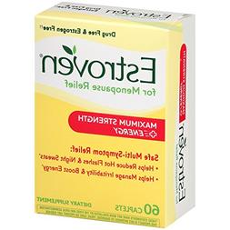 Estroven Maximum Strength + Energy Dietary Supplement Caplet