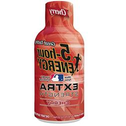 Extra Strength 5-hour ENERGY Shots – Cherry – 24 Count