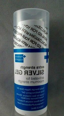 Extra Strength Silver Gel - 35ppm Silver Gel Activated for M