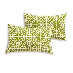Greendale Home Fashions Rectangle Outdoor Accent Pillow , Gr