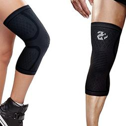 Knee Sleeve by Strength Sleeves PREMIUM Compression Support