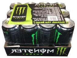 Monster Energy Drink, 16 Ounce Cans-