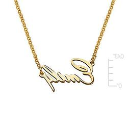 Name Necklace Pendant Tiny Name Necklace -Extra Strength Cus