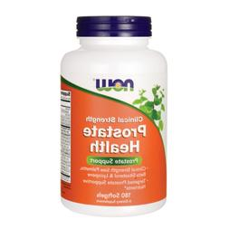 Now Foods: Clinical Strength Prostate Health, 180 sgels