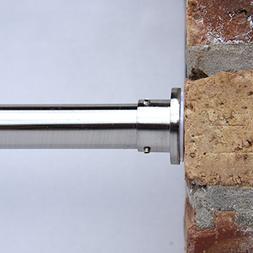 RoomDividersNow Premium Tension Curtain Rod, 80in-120in
