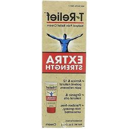 T-Relief Extra Strength Pain Relief Cream, 3 Ounce