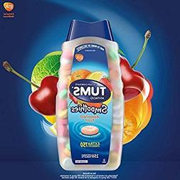 TUMS Smoothies Assorted Fruit Extra Strength Antacid Chewabl