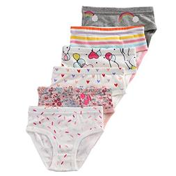 The Kite Baby Girls Underwear 6-Pack Size 12Months 2t 3T