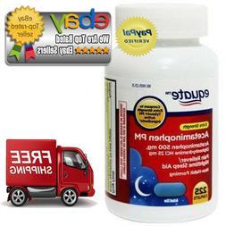 Equate Acetaminophen PM Extra Strenght. 225 Caplets *BEST DE