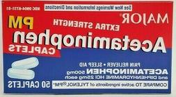 Acetaminophen PM Extra Strength Pain Reliever, Fever Reducer