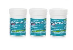 Gaviscon Advance Chewable 60 Tablets Peppermint Pack of 3