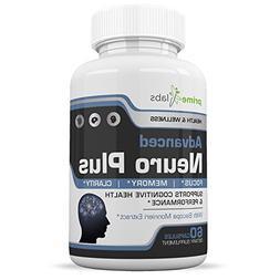 Advanced Brain Supplement Support Booster - Memory, Focus an