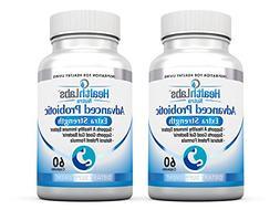 Advanced Probiotics Extra Strength Supplement with Prebiotic