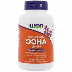 Now Foods AHCC Extra Strength 750mg 60 Veg Capsules