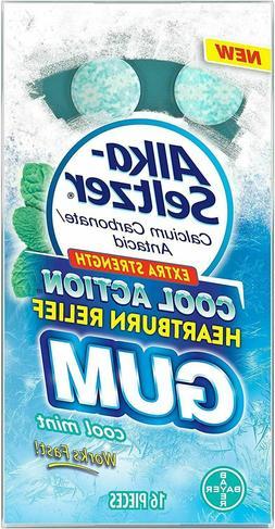 Alka - Seltzer Cool Action Heartburn Relief Gum, Extra Stren